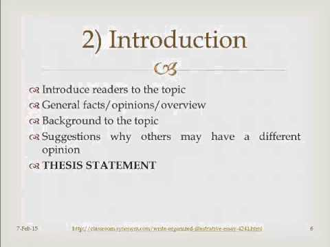 illustrative essay for english An illustrative essay is probably one of the easiest types of essays to write and once you have mastered this type of writing, just about all other types of essays will become easier as well that's because no matter what type of writing you're doing, if you're trying to make a point.