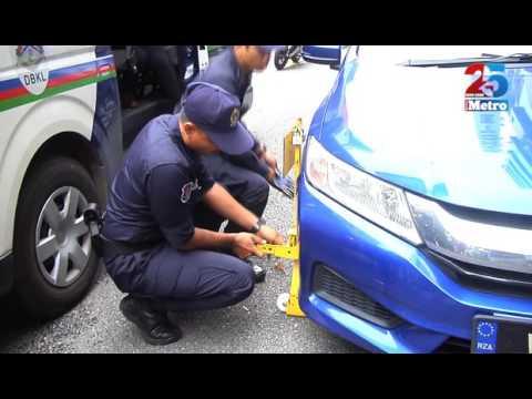DBKL kunci pemilik kenderaan yang berdegil
