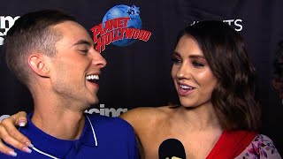 Download Lagu Adam Rippon Jokes He's Trying to Steal Jenna Johnson From Val Chmerkovskiy on 'DWTS' Gratis STAFABAND