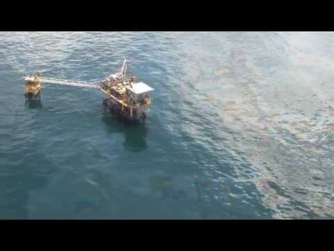 20130710 - OnWingsOfCare Gulf of Mexico Flyover - Ship Shoal 225 Gas Well Leak