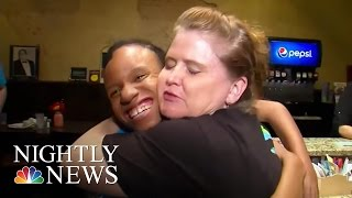 Inspiring America: The 'Hugs Cafe' Employs Those With Special Needs | NBC Nightly News