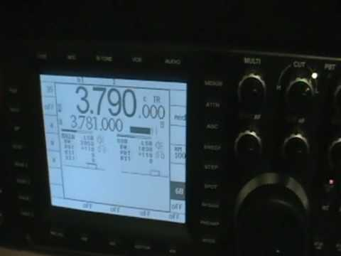 Ham Radio - 9G5TT - GHANA -80mt_ssb ten tec orion