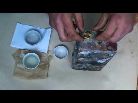 Как расплавить камень в домашних условиях
