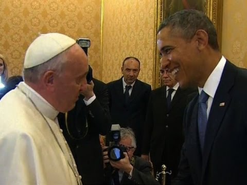 President Obama reflects on his first meeting with Pope Francis
