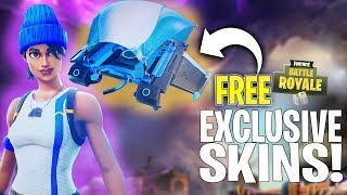 Free EXCLUSIVE NEW SKIN In Fortnite! HOW TO DOWNLOAD!  | Fortnite Battle Royale
