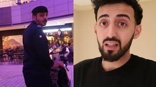 STRICT MIDDLE EASTERN POLICE KICKED ME OUT OF THE MALL