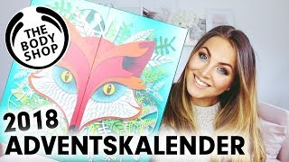THE BODY SHOP ADVENTSKALENDER 2018 deutsch - UNBOXING!