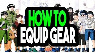 Roblox | Gaiden OA | Beginner Tips Equiping Clothes, Jutsus, and Weapons | iBeMaine