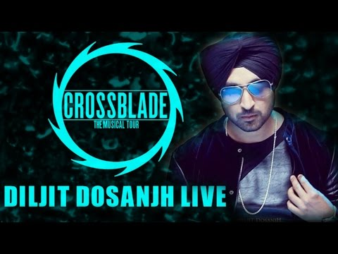 Diljit Dosanjh LIVE | Crossblade The Musical Tour | Delhi University...