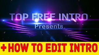 Free Intro Templates Sony Vegas Download + No Plugins + Full Tutorial #4