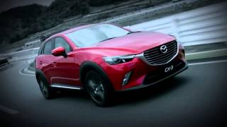 MAZDA CX 3 Driving movie