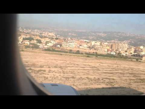 A330-300 landing in Beirut ( best scene HD)