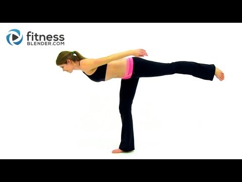 At Home Total Body Barre Workout - Barre Workout Video - Low Impact Workout