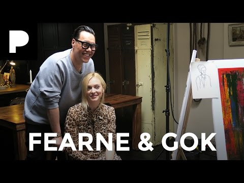 Fearne Cotton & Gok Wan Painting Challenge + COMPETITION!