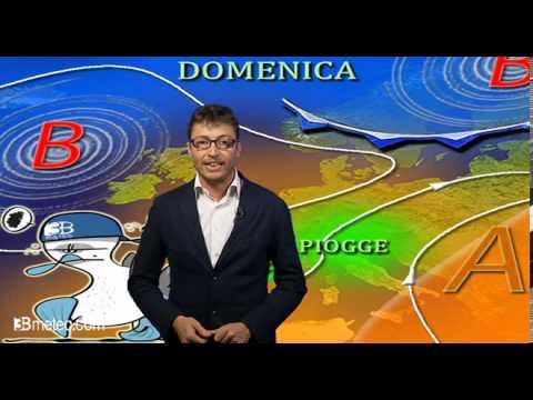 Meteo weekend, dallanticiclone africano alle piogge autunnali al Nord