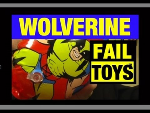 Wolverine Inflatable X-Men Epic Fail Toys Funny Video Review Mike Mozart JeepersMedia