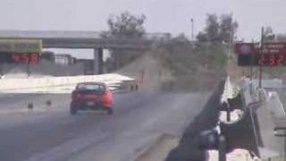 APE Hyundai Tiburon runs a 10.5 second quarter mile pass