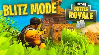 *NEW* BLITZ MODE - Fortnite Battle Royale LIVE