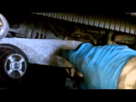 Audi 4.2 40v timing belt prep