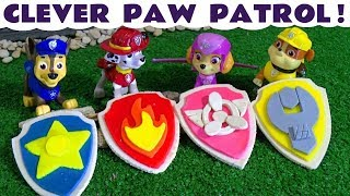 Paw Patrol Play Doh Badges and Logos - Fun toy stories for kids and children  TT4U