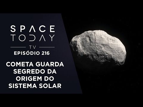 C/2014 S3 - O Cometa Que Guarda Segredos do Sistema Solar - Space Today TV Ep.215
