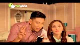 Behind the scene of WeChat Philippines TVC (IYA&DREW)
