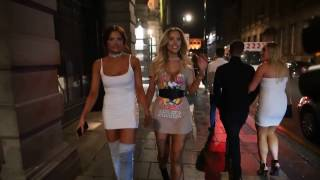 GEORDIE SHORE NEW GIRLS - Abbie Holborn, Eve Shannon & Chelsea Barber Night Out In Newcastle