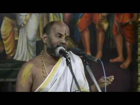 Sri Brahmanya Teertha Acharya, narrating the wonderful story of Sri Krishna (Kannada)