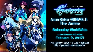 Azure Striker GUNVOLT: The Anime - Official English Release Trailer