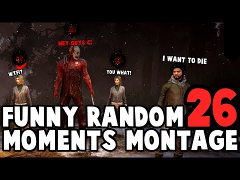 Dead by Daylight funny random moments montage 26