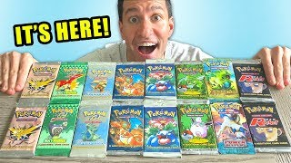 *THE $3000 POKEMON CARDS OPENING!* Rarest Booster Packs!