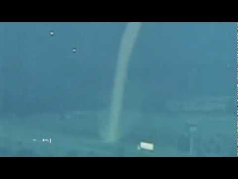 UFOs Destroy Truck With Tornado? Oklahoma HD