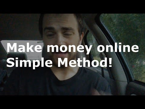 How to make money online | Simple way to make money online!