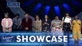 TEMPORARY RESULT - SHOWCASE 1 - Indonesian Idol 2018
