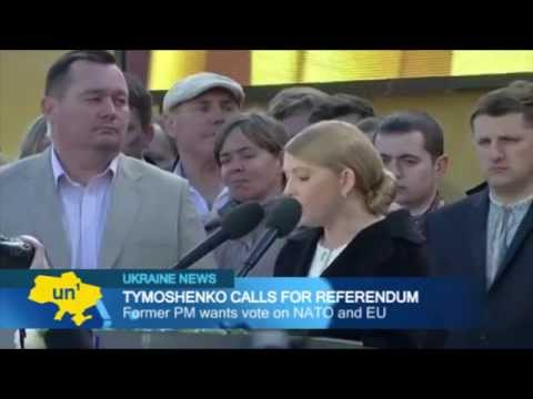 Tymoshenko calls for NATO referendum: former PM wants vote on Ukrainian NATO membership