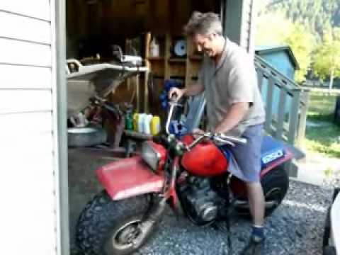 Big Honda Homemade FatCat and Little Honda CT70