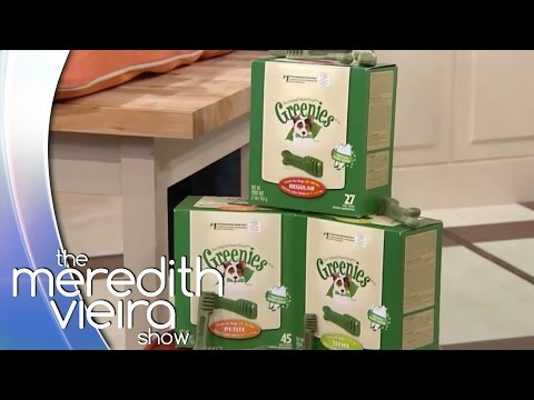 Pet Dental Health With GREENIES® | The Meredith Vieira Show