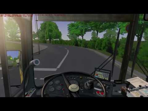 OMSI The Bus Simulator - SD77 Spring Evening Gameplay HD