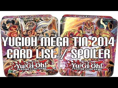 Yugioh Mega Tin Full Card List   Spoiler Revealed - So Many Reprints video
