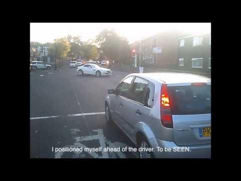 Cut Up - Impatient Driver - MM63 LPN - Manchester #Space4Cycling