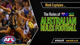 The Rules of Australian (Aussie Rules) Football - EXPLAINED!