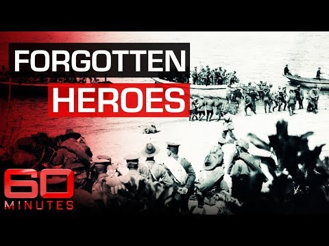 Rewriting Gallipoli: the forgotten ANZAC engineers of World War One   60 Minutes Australia