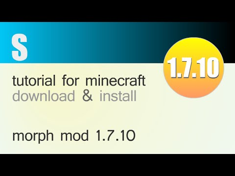 MORPH MOD 1.7.10 minecraft - how to download and install morph mod 1.7.10 (with forge)