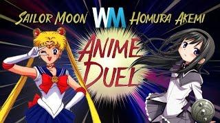 Anime Duel: Sailor Moon Vs Homura Akemi