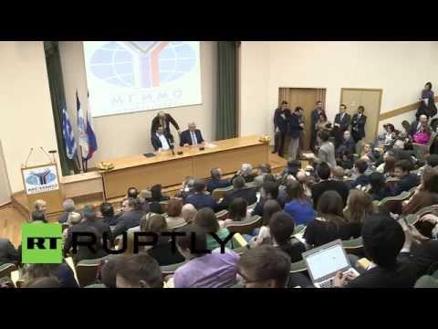 Russia: Tspiras slams EU's sanctions on Russia