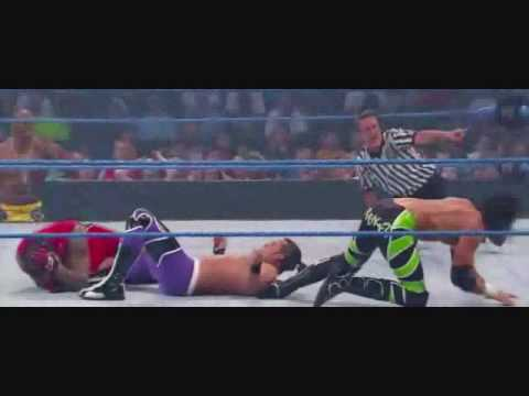 Wwe Superstars:mvp & Chris Masters Vs. Caylen Croft & Trent Barreta video
