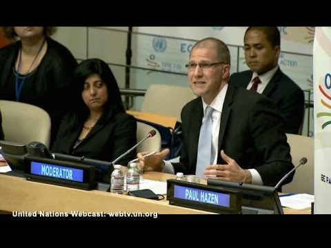 UN's Economic and Social Council Puts Real Voices on UN Stage