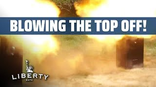 Blowing the Top Off Gun Safes - High Road Hunting Detonates Explosives on Two Safes