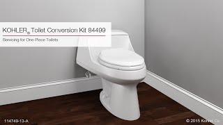 Kohler One Piece Toilet Flush Valve Replacement