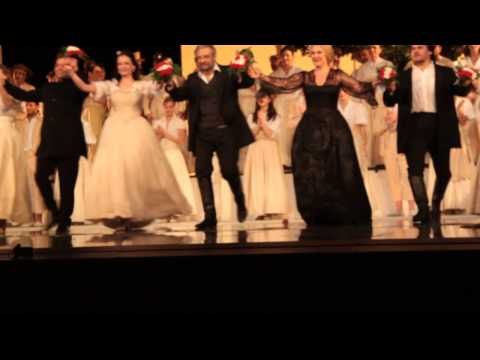 Luisa Fernanda, Valencia, 12th of January, 2015 - curtain calls